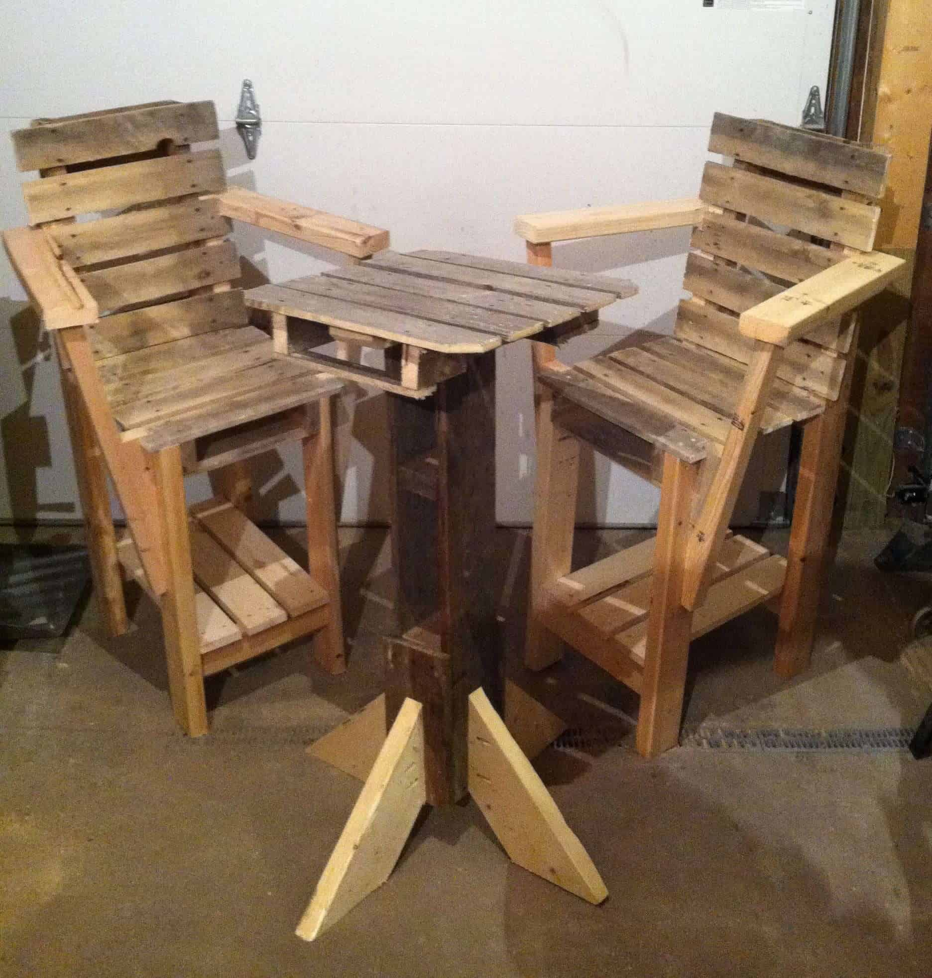 pallet wood chair revolving price in kolkata pallets furniture  1001