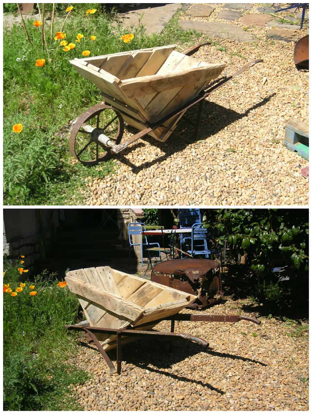 Pallet Wheelbarrow  1001 Pallets