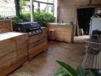 My Bar & Grill Made Out Of Recycled Pallets  1001 Pallets