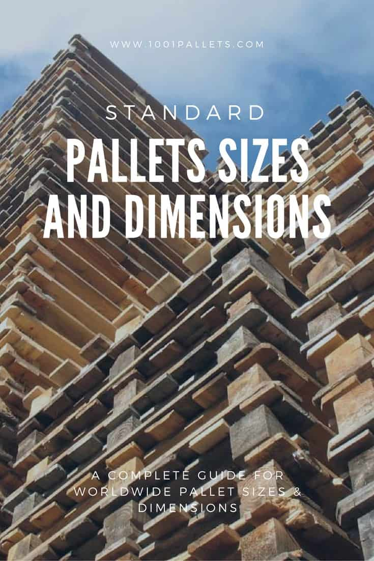diy dining room chairs plans back support for office chair staples how big is a wooden pallet? check the international standard dimensions!