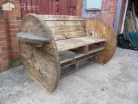 Pallet & Cable Drum Bench  1001 Pallets
