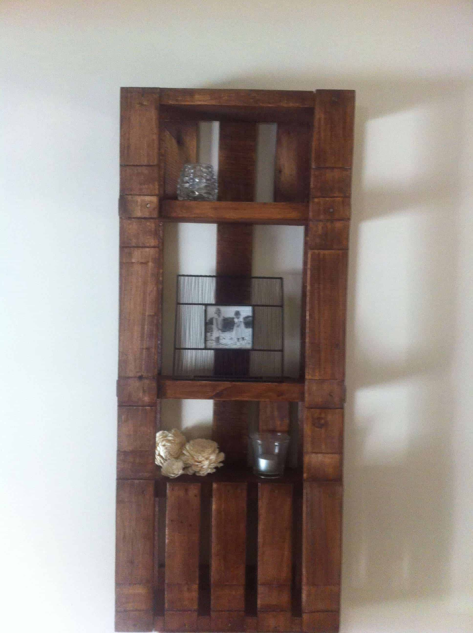 Simple Pallet Shelf 1001 Pallets