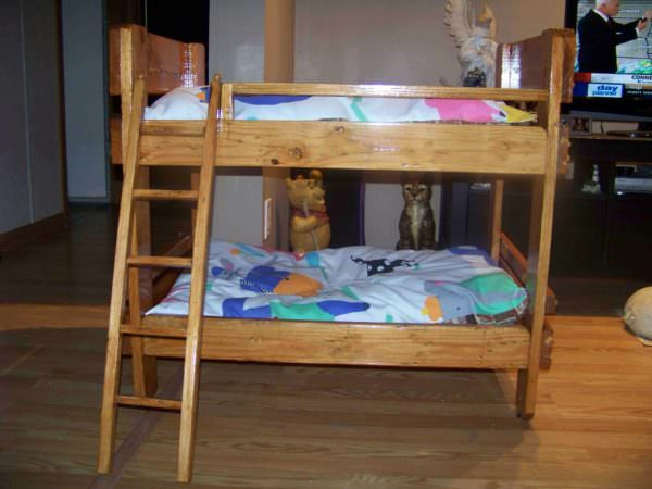 Pallet Bunkbeds For Animals 1001 Pallets