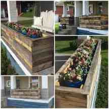 Pallet Planter Boxes 1001 Pallets