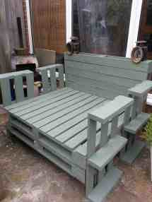 Recycled Pallet Lounger 1001 Pallets