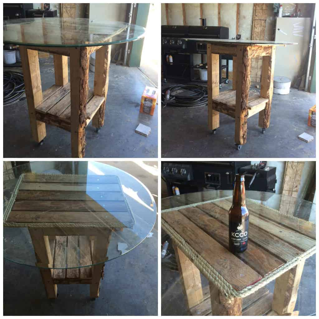 living room storage ideas for toys big rooms with fireplaces bar table made out of recycled pallets • 1001