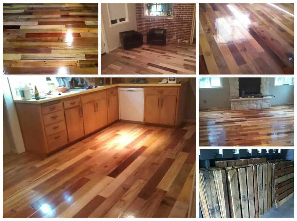 diy dining chairs stool chair desk repurposed pallet wood floor • 1001 pallets