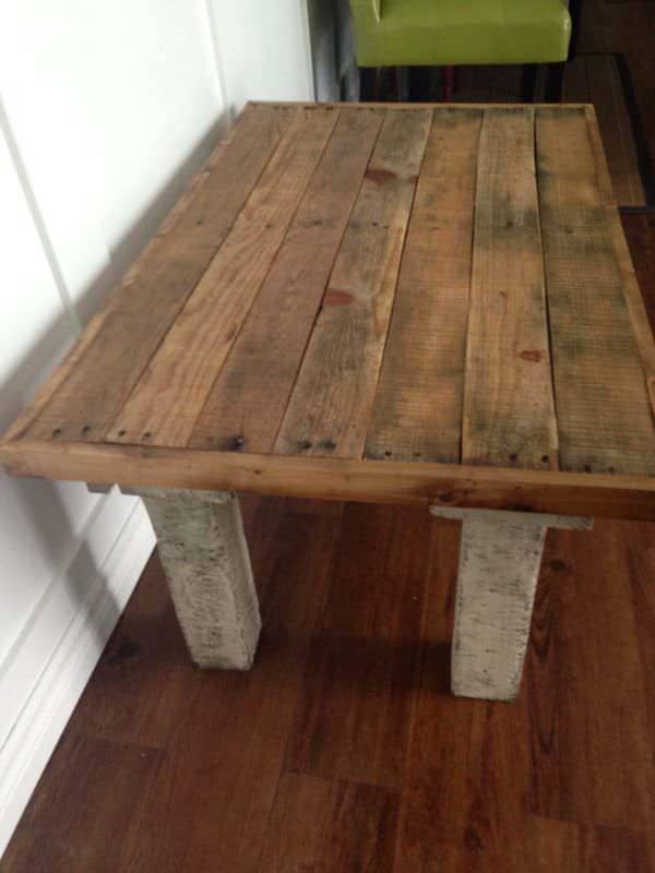 living room storage ideas for toys modern media center coffee table made from repurposed pallets • 1001