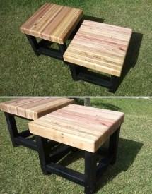 Pallet Bench Seat 1001 Pallets