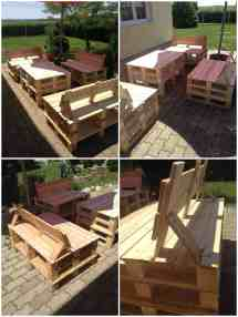 Patio Pallet Furniture Projects