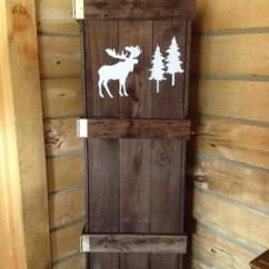 Kitchen Cabinets Storage Blue Cabinet Knobs Pallet Broom Closet • 1001 Pallets