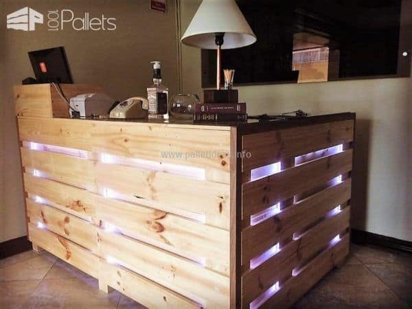 45 Amazing Bars Made From Pallet Wood For Your Inspiration