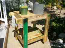 Pallet Patio Furniture Tea Cart 1001 Pallets