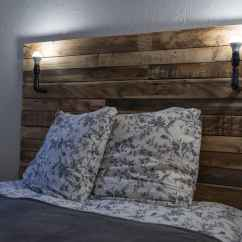 Diy Pallet Living Room Furniture What Is The Best Material For Tête De Lit / Bed Headboard • 1001 Pallets