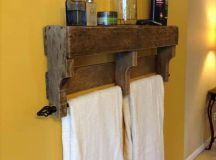 17 Rustic Bathroom Ideas You Can Make With Pallet Wood ...