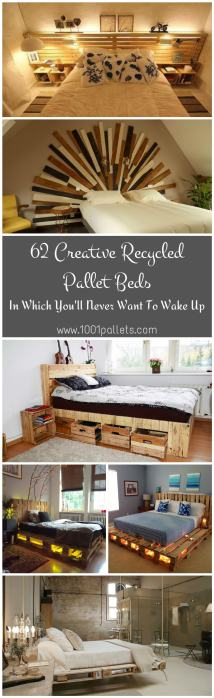 Creative Recycled Pallet Beds In 'll