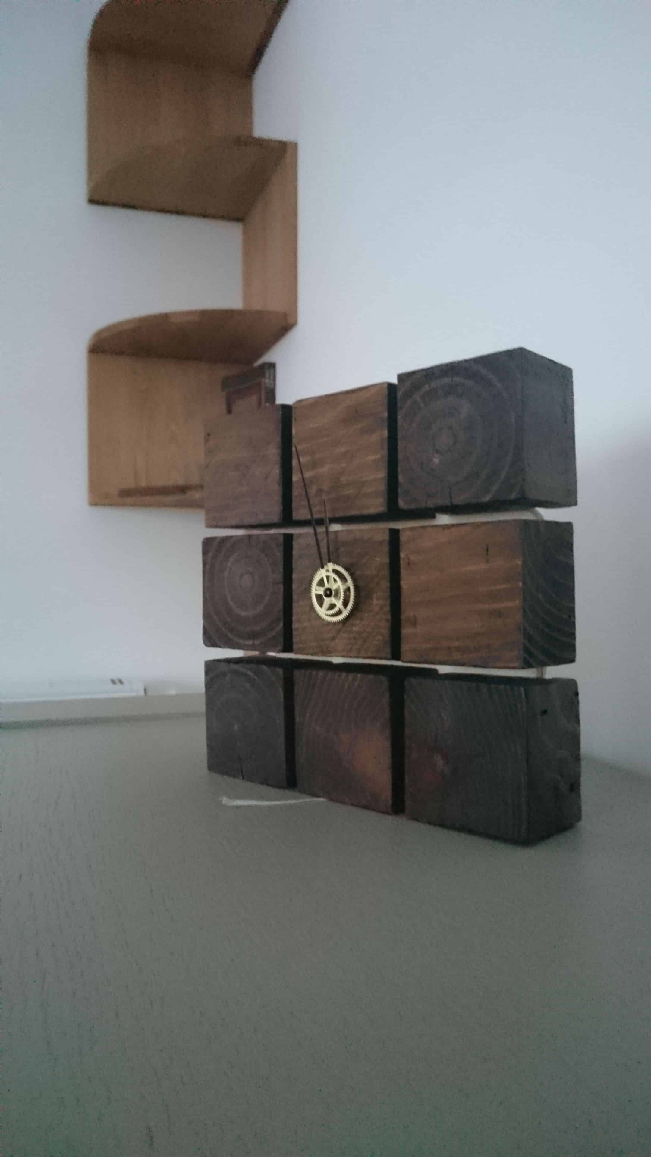 Clock From Pallet Blocks 1001 Pallets