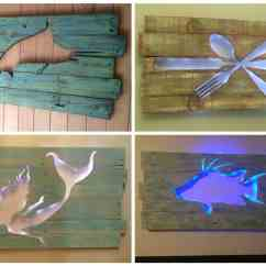 Outdoor Sports Chairs Lawn Lowes Pallet Marlin Wall Art With Led Lighting • 1001 Pallets