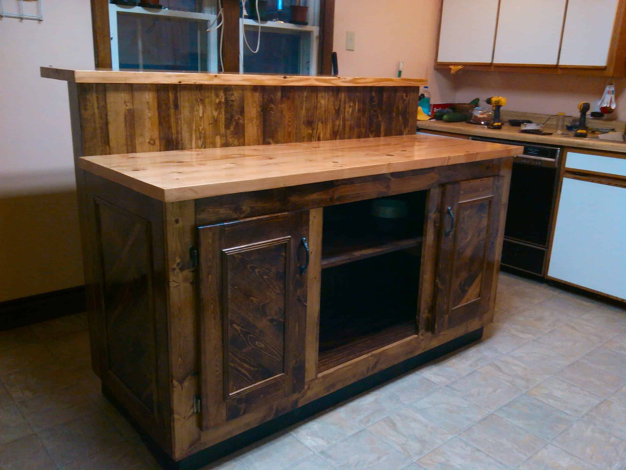 two tier kitchen island virtual design tool magnificent pallet  1001 pallets