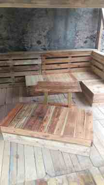 Absolutely Amazing Complete Pallet Terrace Set 1001 Pallets