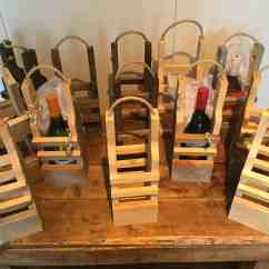 Wine Rack In Living Room Modern Grey Carpet Rustic Pallet Wood Reusable Gift Bags • 1001 Pallets