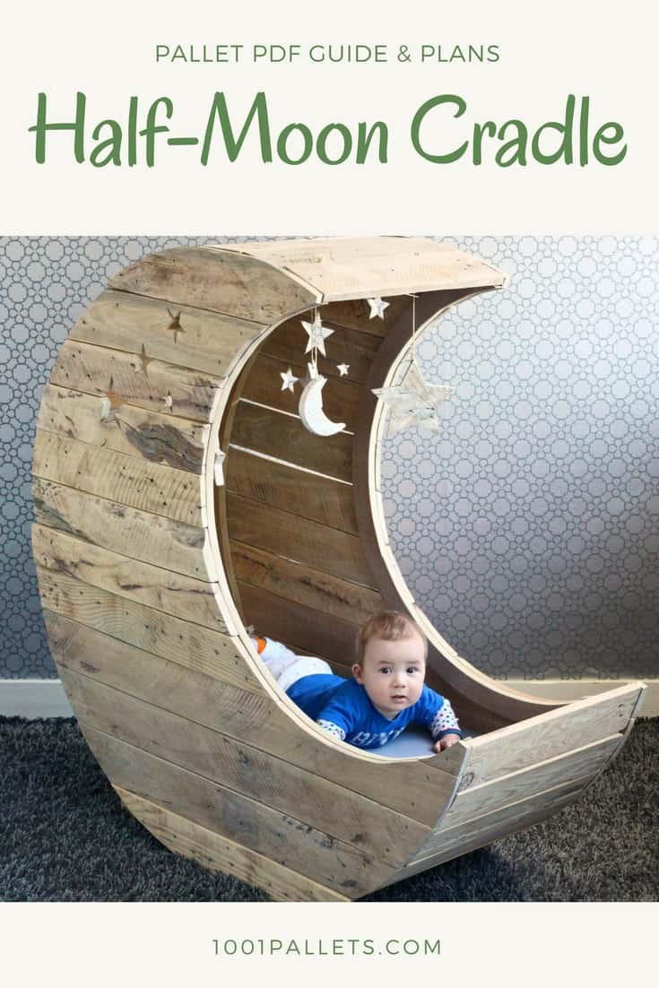 DIY PDF Pallet HalfMoon Cradle  1001 Pallets  FREE DOWNLOAD