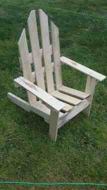 2-hour Easy Pallet Outdoor Chair 1001 Pallets