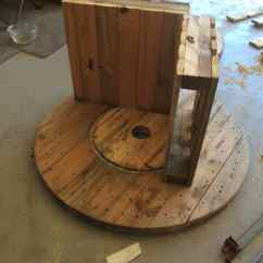 Building A Rocking Chair Metal Rail Ideas Diy Drawing Make This Drum Pallet 1001 Pallets