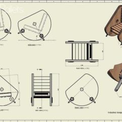 Diy Pallet Rocking Chair Plans Pub Table And Sets Drawing Make This Drum 1001 Pallets