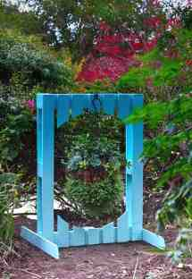 Pallet Arched Plant Stand 1001 Pallets