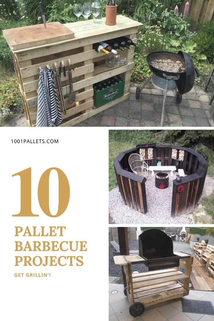 Get Grillin With These 10 Pallet Barbecue Projects