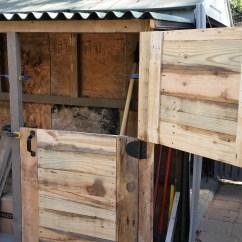 Kitchen Carts On Wheels Best Range Diy Pdf Tutorial Pallet Barn Shed • 1001 Pallets Free ...