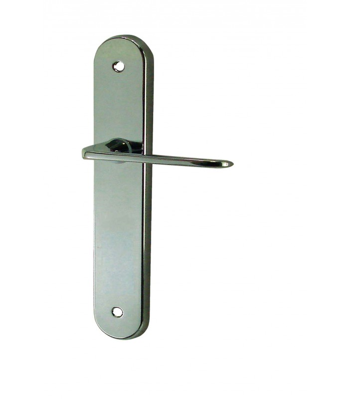 poignees de porte funny zamak acier chrome 165 mm 1001poignees votre specialiste de la poignee de porte