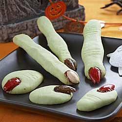 Ogre or Monster toe cookies!