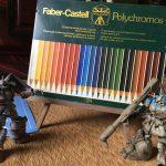 色鉛筆を再開している。