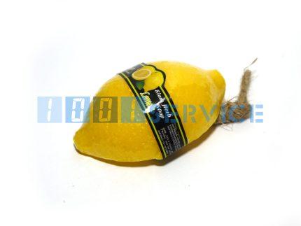 Фруктовое мыло в форме и с запахом зеленого лимона