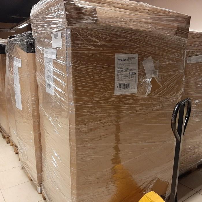 Paletės iš Amazon Tinklo/Amazon Customer Returns