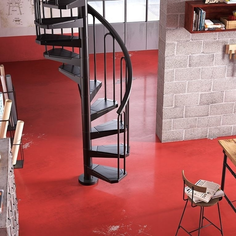 Space Saving Stairs Design For Small Space   Spiral Staircase Design For Small Spaces   Diseños   Cool   Tiny House   Attractive   Beautiful