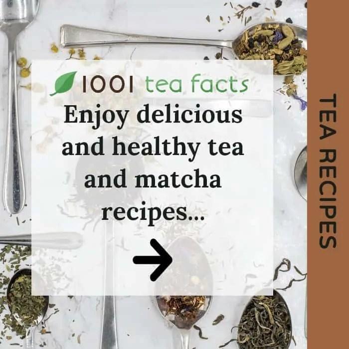 Tea and Matcha Recipes
