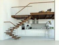 """Open Staircase Type """"Kiara"""" - l00l Stairs"""