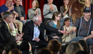 McDowell as a microcosm: Bernie Sanders goes 'All In' with Chris Hayes on rural issues