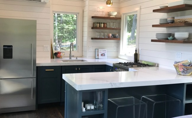 What S In Our New Tiny House Kitchen