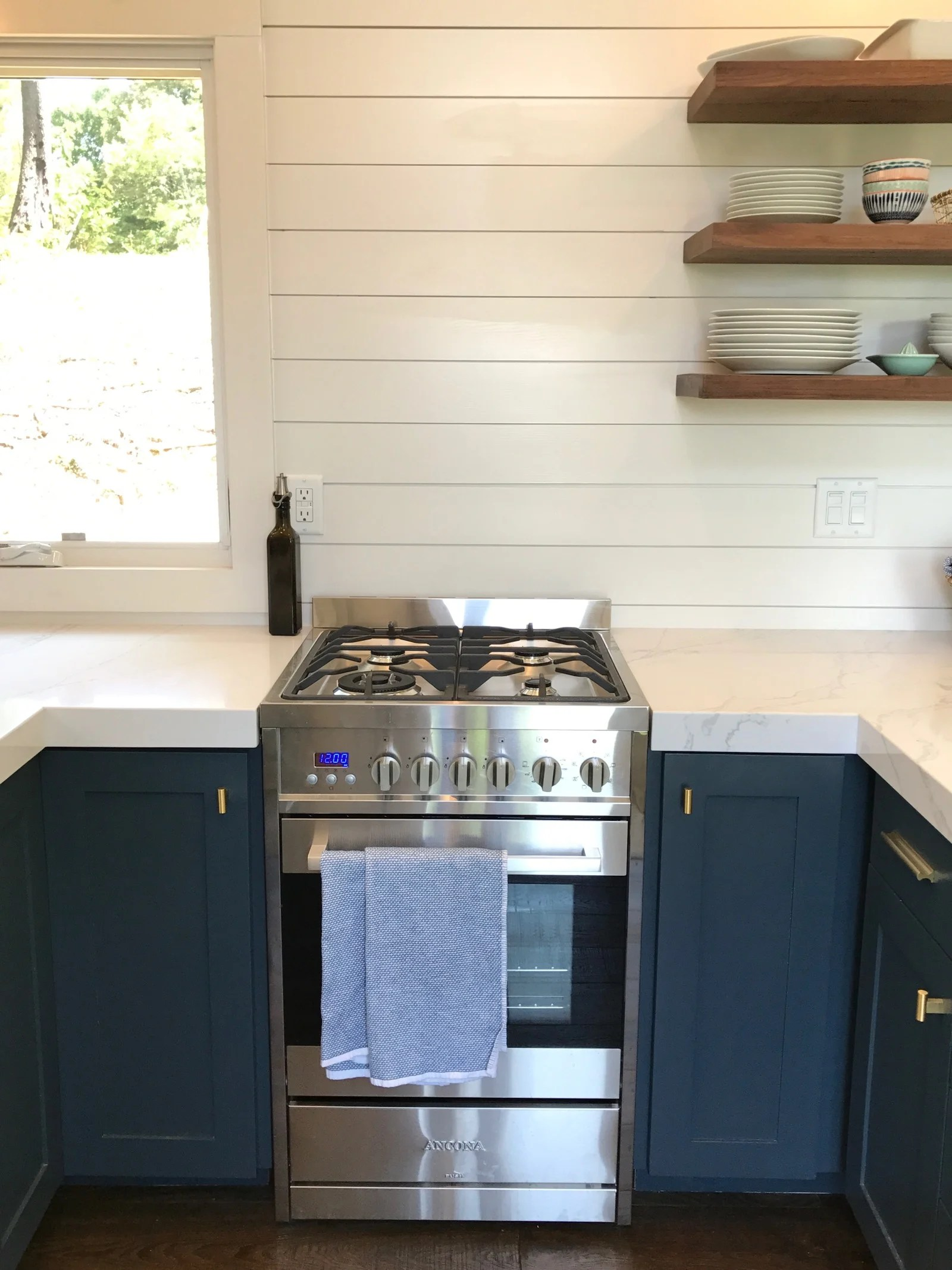 Whats in our new Tiny House Kitchen  100 Days of Real Food