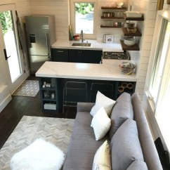 Tiny House Kitchens Kitchen Flush Mount Lighting What S In Our New On Wheels 100 Days Of Real Food