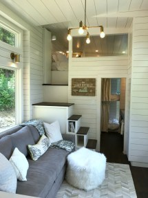' In Tiny House Kitchen