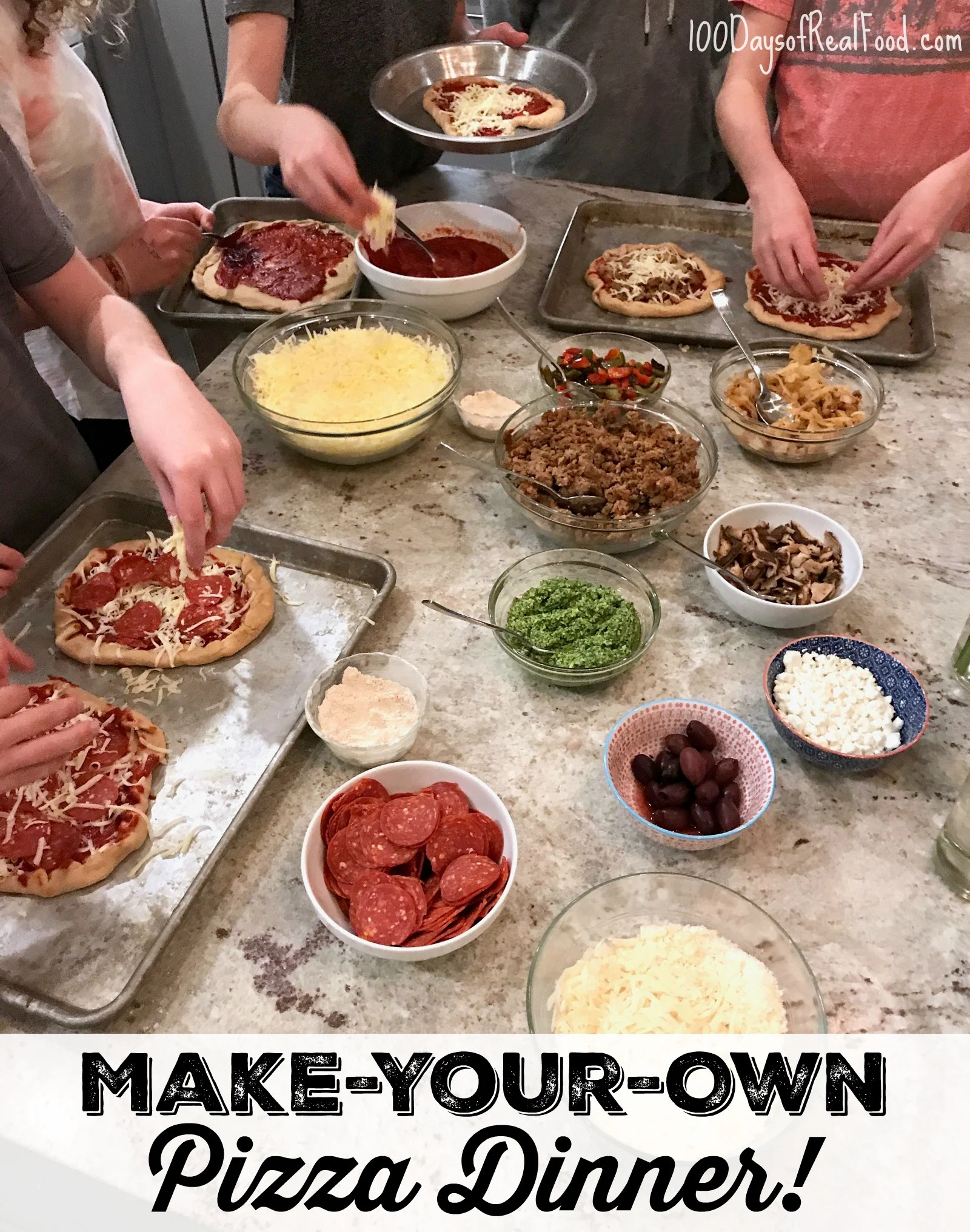 How To Make Your Own Pizza Night