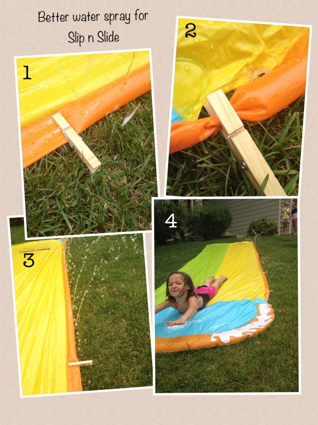 Improve The Water Spray For Your Slip N Slide