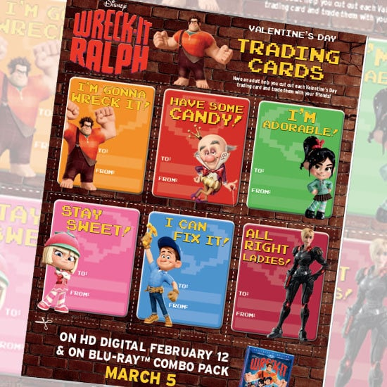 Crafty Teacher Lady February 2013: Wreck-It Ralph Valentines Freebie