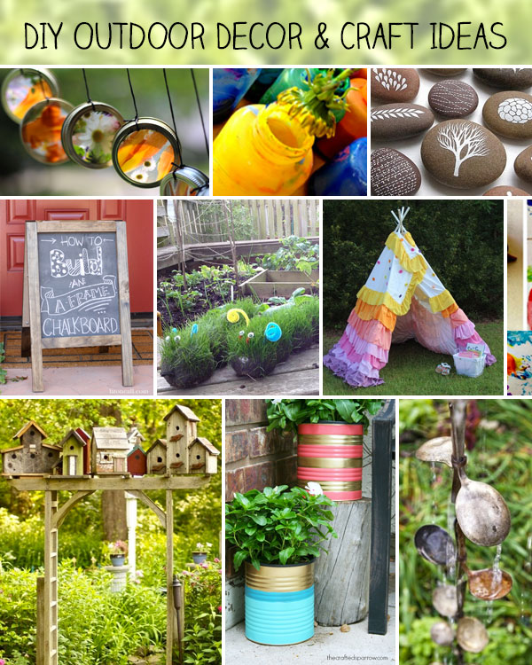 Diy Outdoor Decor And Crafts 100 Directions