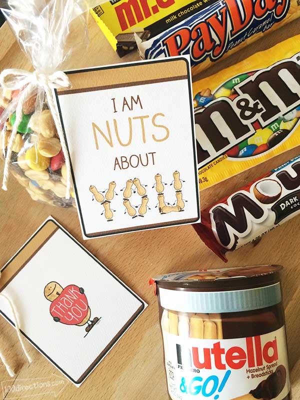 i u0026 39 m nuts about you teacher appreciation gift idea